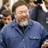 Ai Weiwei er i øjeblikket i Berlin,l men fører samtidig en kamp mod den danske Lego-koncern.
