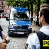 For ottende gang forlænger politiet visitationszonen, der blev oprettet i sommer i København. (Foto: Mads Claus Rasmussen/Scanpix 2017)