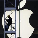 Det kendte Apple-logo er ikke længere en sikker vej til succes. Apple skal sigte efter Månen, forlyder det. Foto: Bobby Yip