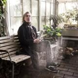 Peter A.G. Nielsen i Palmehuset. Gnags har netop udsendt albummet »Nørd«.