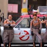 Den nye »Ghostbusters« - med fra venstre Leslie Jones, Melissa McCarthy, Kristen Wiig og Kate McKinnon. Pressefoto.