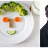 Hvordan får du broccoli i dine børn? Med et smil?