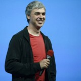 Larry Page, topper listen over de chefer i de største amerikabnske selskaber, som får mest ros af de ansatte