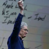 Apple CEO Tim Cook delivers the keynote address during the Apple WWDC on June 8, 2015 in San Francisco, California. Apple annouced a new OS X, El Capitan, iOS 9 and Apple Music.