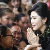 Yingluck Shinawatra er muligvis er flygtet fra Thailand, hvor hun risikerer en lang fængselsstraf.