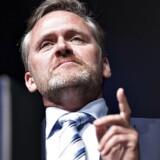 Liberal Alliances leder, Anders Samuelsen, langer ud efter folkeskolereformen og appellerer til, at man genåbner forliget og starter forfra. (foto: Henning Bagger/Scanpix2016)