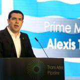 Den græske regering har onsdag fremsat et lovforslag, der øger skatter, gør det lettere for banker at komme af med dårlige lån og opretter en ny privatiseringsfond med Grækenlands udenlandske kreditorer. (AFP PHOTO / SAKIS MITROLIDIS)