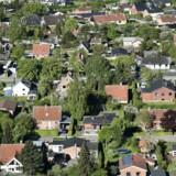 Arkivfoto. Antallet af boliger til salg er efter et fald i februar nede på det laveste antal siden marts 2007, viser nye tal fra Realkreditrådet.