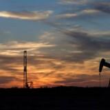 På råvarebørsen er nordsøolien, Brent, faldet til et niveau på 47,77 dollar tirsdag morgen fra omkring 48 dollar mandag eftermiddag ved 17-tiden.
