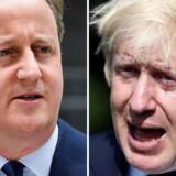 David Cameron og Boris Johnson er stadig partifæller og tidligere studiekammerater, men nære venner er de nok ikke mere.