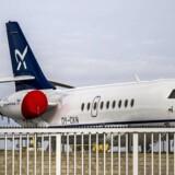 Karup Lufthavn forventer, at Apple-folk vil blive faste gæster på afgangene mellem København og Karup. Foto: Preben Madsen, Scanpix