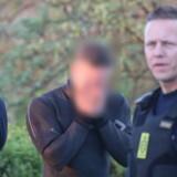 På billedet: En af de sigtet i sagen om dødsulykken lørdag aften ved Langebro i København, der har kostet to kvinder livet.