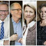 Fra venstre: Jørgen Vig Knudstorp, Anders Dam, Anders Gersel Pedersen, Eva Berneke, Pernille Erenbjerg og Torben Jensen