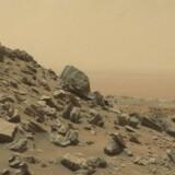 Gale-krateret på Mars, fotograferet af Curiosity Rover 8. september.