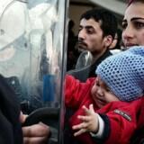 Der er flere børn og familier i flygtningestrømmen end før
