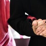 Kun 33 procent af danskerne mellem 55 og 62 år har tillid til, at folkepensionen forbliver uændret i de næste 15 år, viser ny undersøgelse. Arkivfoto: Sophia Juliane Lydolph/Scanpix 2016