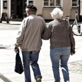 Fremtidens pensionister kan få flere penge mellem hænderne. 1. januar træder der nemlig et sæt nye regler i kraft, som betyder, at man kan få lov at beholde mere af det, man sparer op, uden at blive modregnet i tillæg til folkepensionen. (Foto: Henning Bagger/Scanpix 2017)