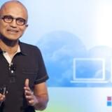 Satya Nadella, Microsofts nye topchef, har sat sit nye hold. Foto: Josh Edelson, AFP/Scanpix