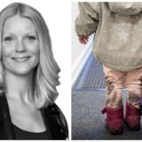 Anne Mette Kirk Ørskov kommenterer Nathalie Ostrynskis klumme »Så få dog sagt farvel til de børn«.