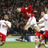 "Britain Soccer Football - Southampton v Manchester United - EFL Cup Final - Wembley Stadium - 26/2/17 Manchester United's Zlatan Ibrahimovic scores their third goal Action Images via Reuters / Carl Recine Livepic EDITORIAL USE ONLY.No use with unauthorized audio, video, data, fixture lists, club/league logos or ""live"" services. Online in-match use limited to 45 images, no video emulation.No use in betting, games or single club/league/player publications. Please contact your account representative for further details."