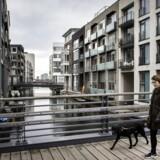 Sluseholmen i København er et af de kvarterer, hvor de har bemærket tendens med, at husstande med relativt høj indkomst søger ind mod byen frem for mod de store villaer i forstæderne.