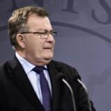 Finansminister Claus Hjort Frederiksen (V) mener, at 2025-planens virkning på beskæftigelsen opvejer, at planen også skaber mere ulighed i Danmark. Scanpix/Mathias Løvgreen Bojesen