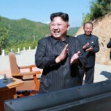 Nordkoreas leder, Kim Jong Un.