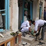 ARKIVFOTO: I slutningen af marts var der en lignende eksplosion ved en moské i Herat-provinsen.