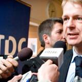 Vent med børsnoteringen af TDC, mener Bjarne Graven Larsen, ATPs fondsdirektør.