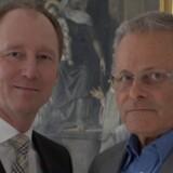 Johnnie Bloch Jensen (tv.) er udpeget til ny chef for Match-online efter Peter Dalkier, som har været med siden portalen blev stiftet i 1999. PR-foto