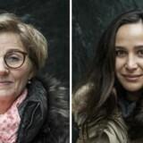 Lone Fischer, 51 år, indkøber og Masha Sharifara, 31 år, jurist, var blandt deltagerne i Berlingske's voxpop omkring arbejdsfordelingen i hjemmet. Se deres svar ved at følge linket i artiklen.