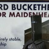 Lord Buckethead fik imponerende 249 stemmer ved torsdagens valg i Storbritannien. Free/Lord Buckethead