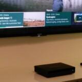 YouSee lancerede sin nye TV-boks i april i år, men først nu kan man se tekst-TV på sin skærm, som TV-boksen hidtil har blokeret for. Arkivfoto: Thomas Breinstrup