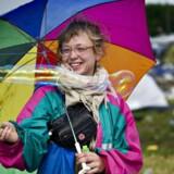 Når DMI skal opsummere vejrudsigten for Roskilde Festival bliver det »ustadigt«.