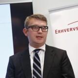 Erhvervs- og vækstminister Troels Lund Poulsen (V) lancerede mandag en ny strategi for dansk turisme. Den indebærer blandt andet, at bundfradraget på udlejning af helårsboliger og sommerhuse hæves. Scanpix/Jens Astrup