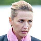I tale hos Dansk Industri siger statsminister Mette Frederiksen, at man vil have en klimalov om tre måneder.