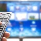 Fladskærmsfjernsyn, der er koblet på hjemmets internetforbindelse, sender af sig selv følsomme data af sted til flere af de store teknologikoncerner, viser to store undersøgelser. Arkivfoto: Sanda Stanca, Iris/Ritzau Scanpix