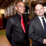 Arkivfoto. Den konservative formand, Søren Pape Poulsen, og hans kæreste Josue Medina Vasquez.
