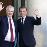 Frankrigs præsident, Emmanuel Macron, bød onsdag den finske statsminister, Antti Rinne, velkommen i Elysée-palæet i Paris. Senere kom de sammen med en kontant besked til Storbritannien.