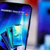 Huawei præsenterer torsdag eftermiddag efterfølgeren til sidste års Mate 20-toptelefoner ved et stort arrangement i München. Der vil blive fulgt særdeles nøje med i alle detaljer verden over. Arkivfoto: Kacper Pempel, Reuters/Ritzau Scanpix