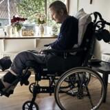 »Han mistede simpelthen sit ben på et sted, der skal genoptræne mennesker,« skriver May Bjerre Eiby om Jørgen Jensen (billedet).
