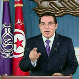 Tunesiens ekspræsident, Zine El Abidine Ben Ali (billedet), kom til magten ved at kuppe sin forgænger i 1987. Billedet her er taget i 2011 - året hvor Ben Ali selv blev væltet. Handout/Reuters