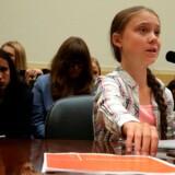 Greta Thunberg har talt direkte til politikere i Kongressen i Washington, D.C.