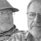 Johannes Krüger (tv) og Jens Morten Hansen (th) er ifølge Sebastian H. Mernild ikke i stand til at levere bevis for deres påstande. »Vi lærer vores førsteårsstuderende, at de skal have en åben, objektiv og ikke følelsesladet tilgang til data, og ikke udvælge enkelte data og tidsserier efter forgodtbefindende,« siger Sebastian Mernild.
