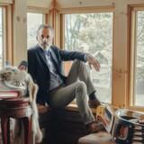 Den 57-årige forfatter og universitetsprofessor Jordan B. Peterson er blevet indlagt på et center i New York for at blive medicinafvænnet. Arkivbillede.