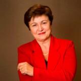 Den 66-årige bulgarer Kristalina Georgieva bliver efter alt at dømme ny chef for den Internationale Valutafond (IMF), da hun er eneste kandidat. Hun har tilbragt en stor del af karrieren i søsterorganisationen Verdensbanken, men har også haft tunge poster i EU-Kommissionen. Miljøspørgsmål, lige muligheder og bæredygtig udvikling er blandt hendes mærkesager.