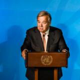 FNs generalsekretær, António Guterres, har eftertrykkeligt anmodet deltagerne ved dagens klimatopmøde om at »medbringe planer, ikke taler«.