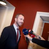 Jakob Ellemann-Jensen(V) har sat sig på posten som gruppeformand og får fremover direkte føling med folketingsgruppens arbejde.