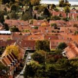 Det er husejere i og omkring hovedstadsområdet, der får den største stigning i grundskylden i 2020. (Arkivfoto) Linda Kastrup/Ritzau Scanpix