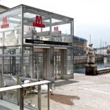 M3 Cityringen åbner den 29. september 2019. Gammel Strand. København den 24. september 2019.